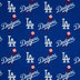 MLB Los Angeles Dodgers Cotton Fabric